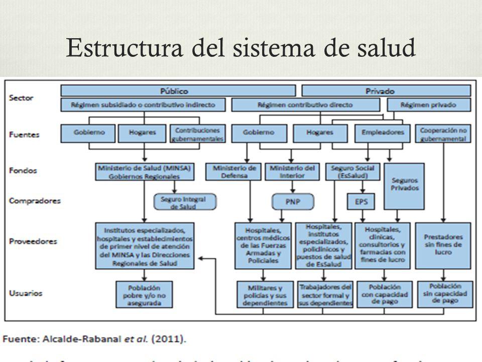 Estructura del sistema de salud