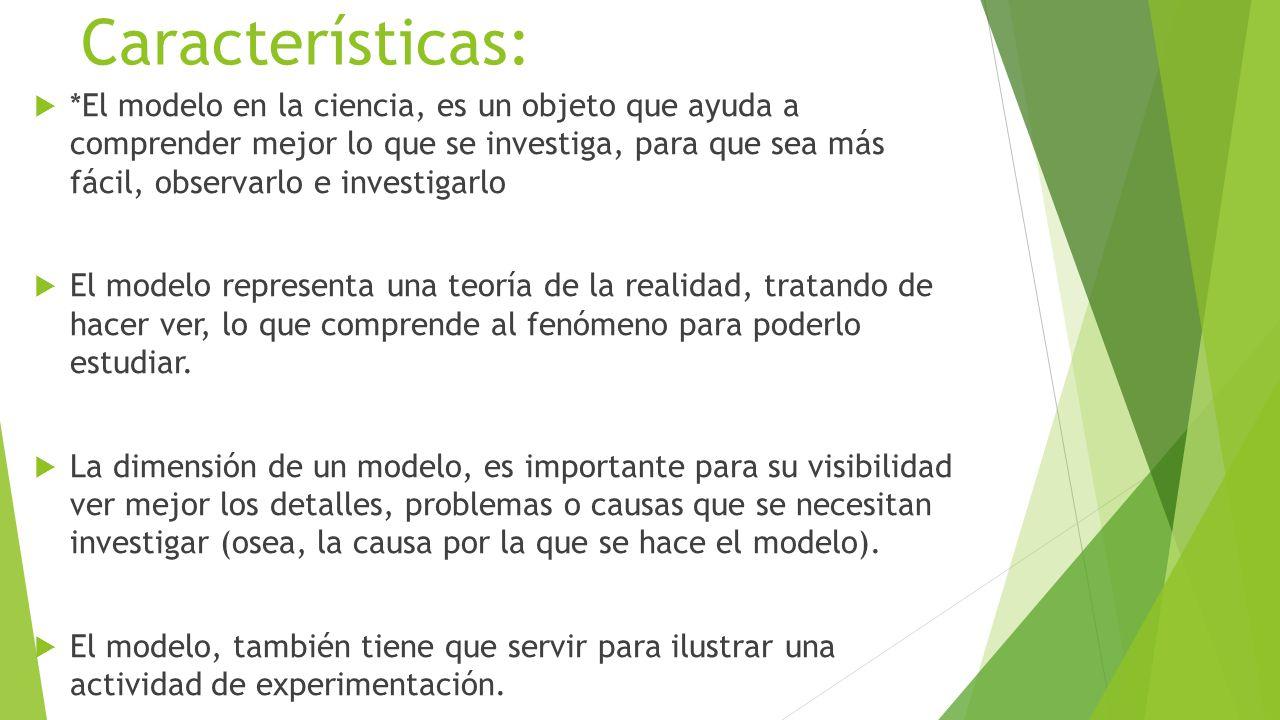 (Concepto del autor) Los criterios principales que un modelo debe satisfacer son los siguientes:  El modelo debe ser lo más simple posible.