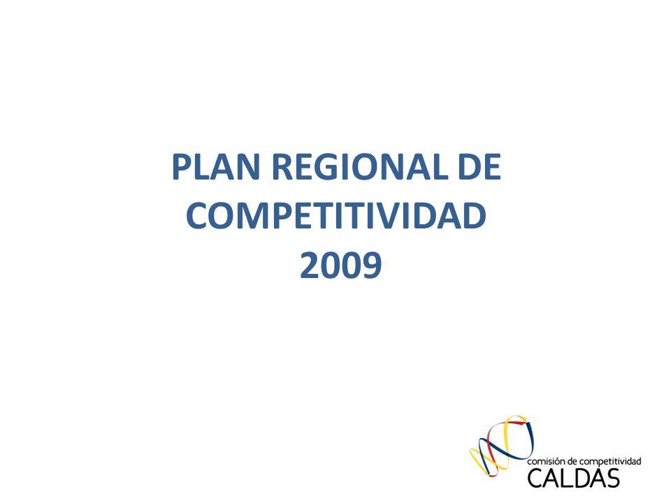 PLAN REGIONAL DE COMPETITIVIDAD 2009