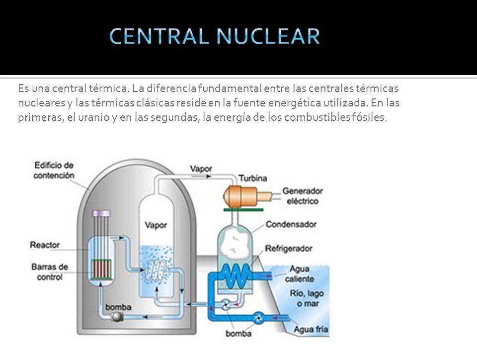 Es una central térmica.