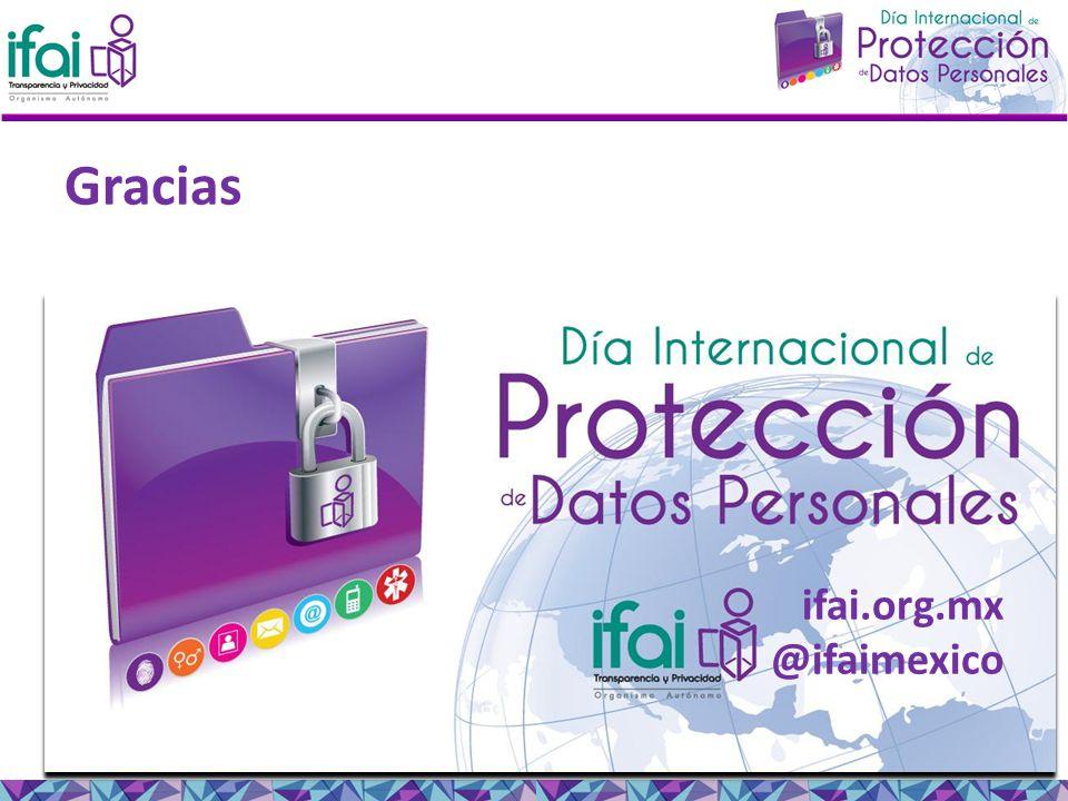 Gracias ifai.org.mx @ifaimexico