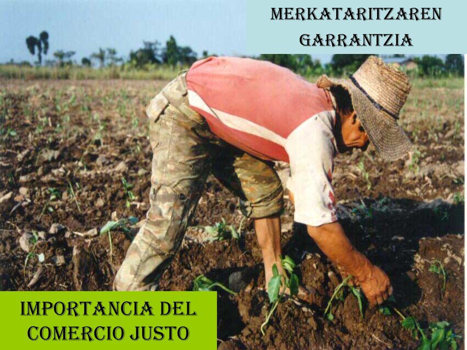 IMPORTANCIA DEL COMERCIO JUSTO MERKATARITZAREN GARRANTZIA
