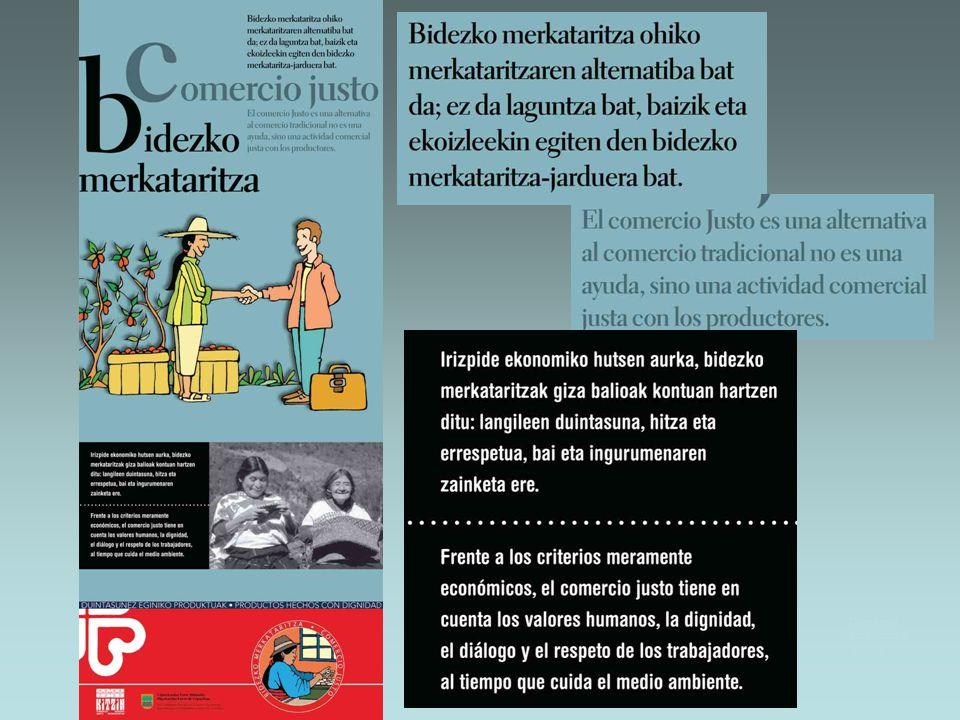 Comercio justo/Bidezko merkataritza