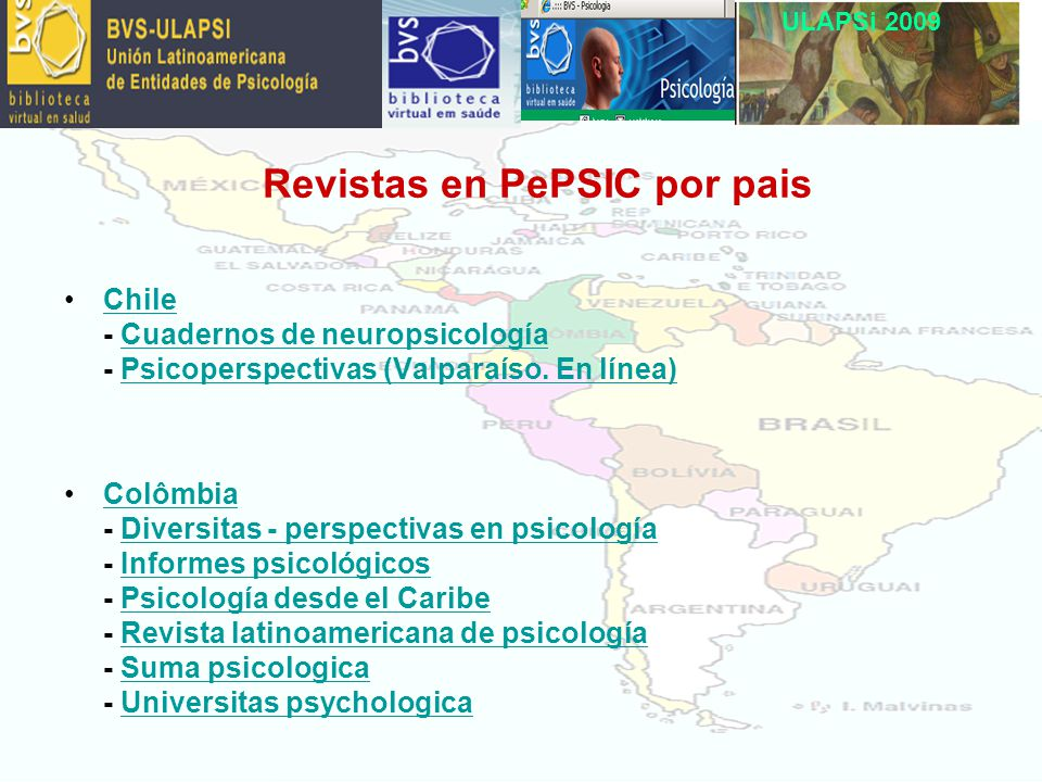 ULAPSi 2009 Chile - Cuadernos de neuropsicología - Psicoperspectivas (Valparaíso.