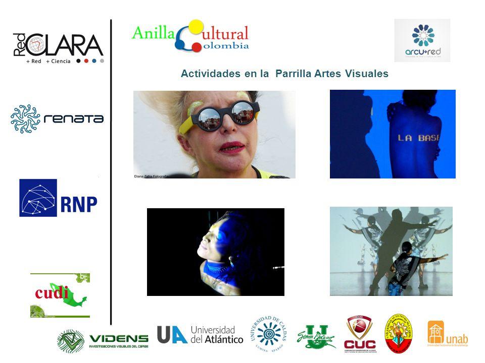 Actividades en la Parrilla Artes Visuales