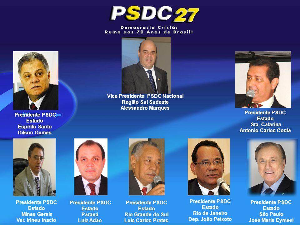 Presidente PSDC Estado Minas Gerais Ver.