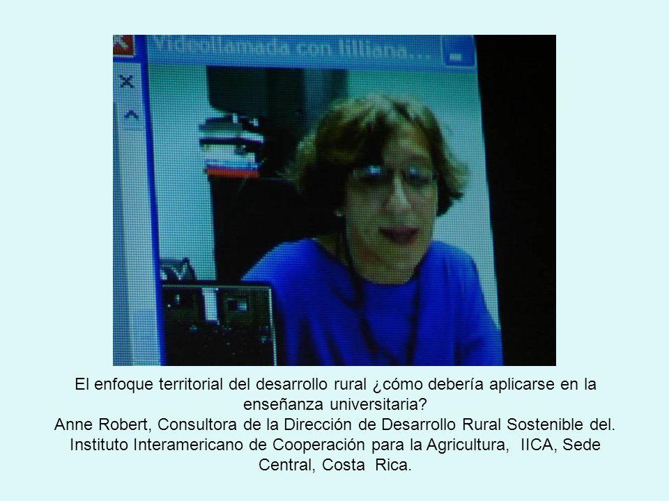 El enfoque territorial del desarrollo rural ¿cómo debería aplicarse en la enseñanza universitaria.