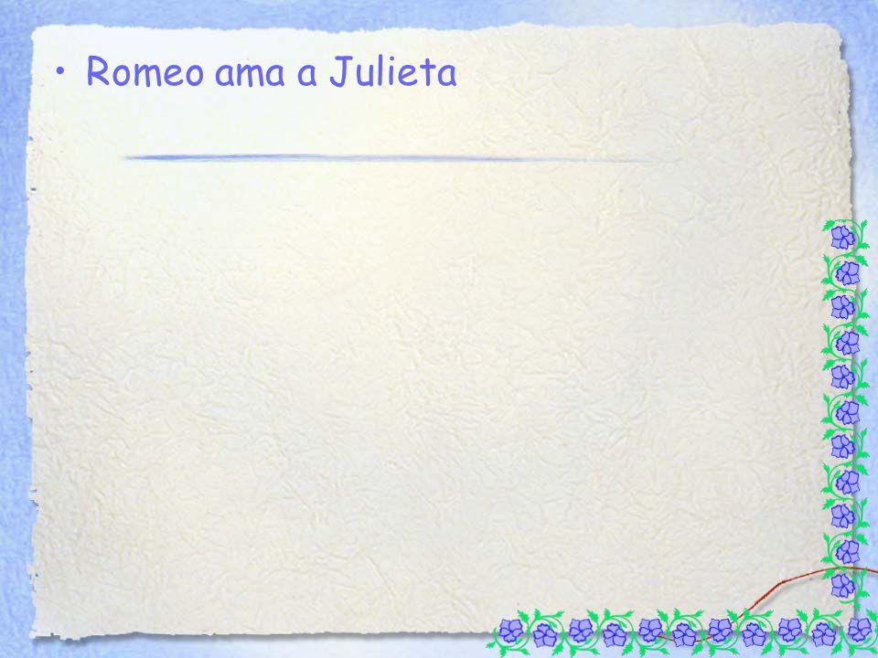 Romeo ama a Julieta