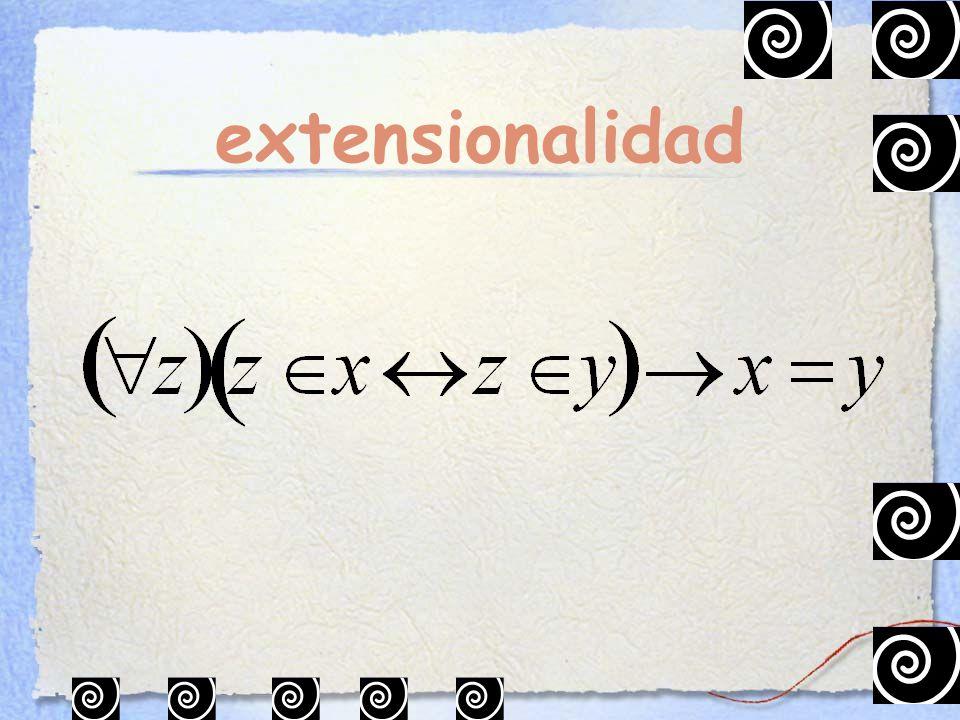 extensionalidad