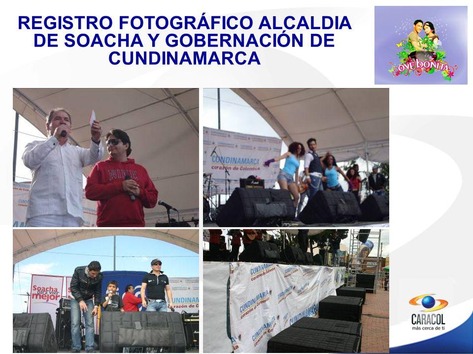 REGISTRO FOTOGRÁFICO ALCALDIA DE SOACHA Y GOBERNACIÓN DE CUNDINAMARCA