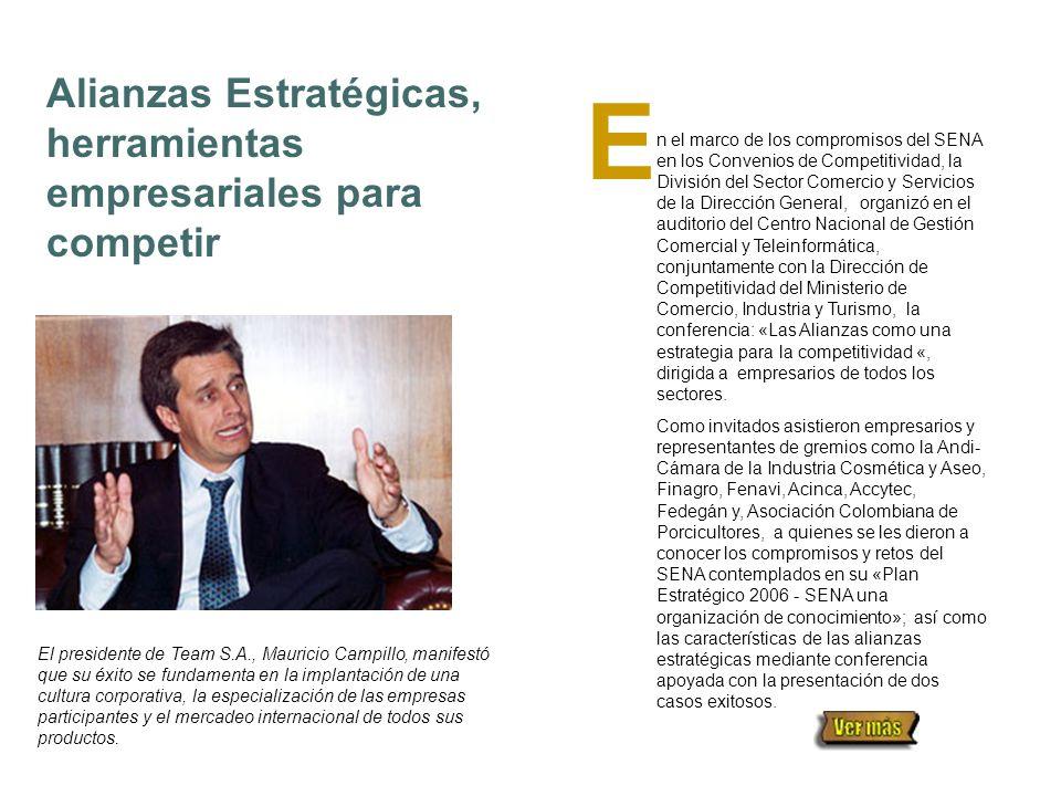 NOTIBREVES Desarrollo Empresarial a tono con el país Convocado por la Directora de Empleo, Julia Gutiérrez De Piñeres, se realizó en días pasados en Bogotá (Centro Nacional de Hotelería), el Encuentro Nacional de Jefes de Desarrollo Empresarial del SENA.