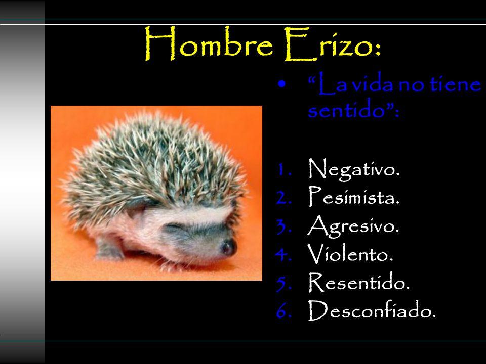 Hombre Erizo: La vida no tiene sentido : 1.Negativo.