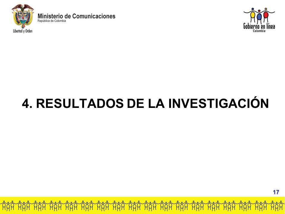 4. RESULTADOS DE LA INVESTIGACIÓN 17