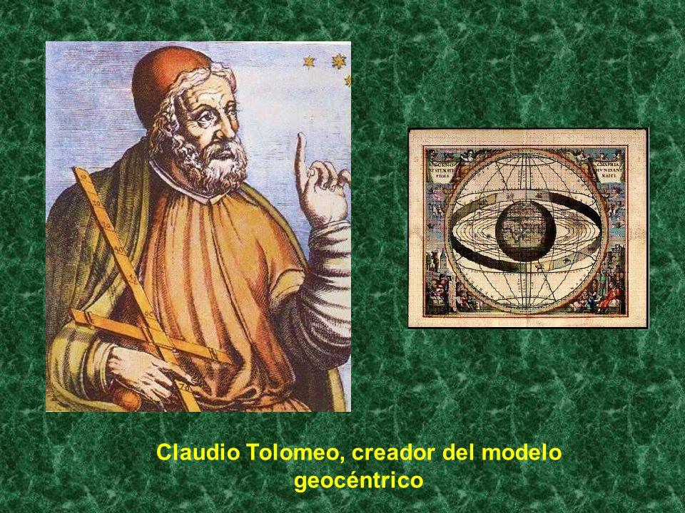 Claudio Tolomeo, creador del modelo geocéntrico
