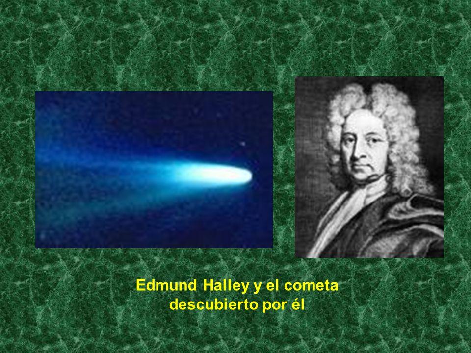 Edmund Halley y el cometa descubierto por él