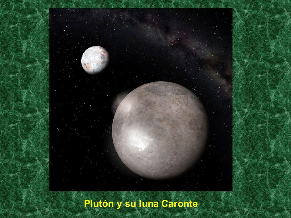 Plutón y su luna Caronte