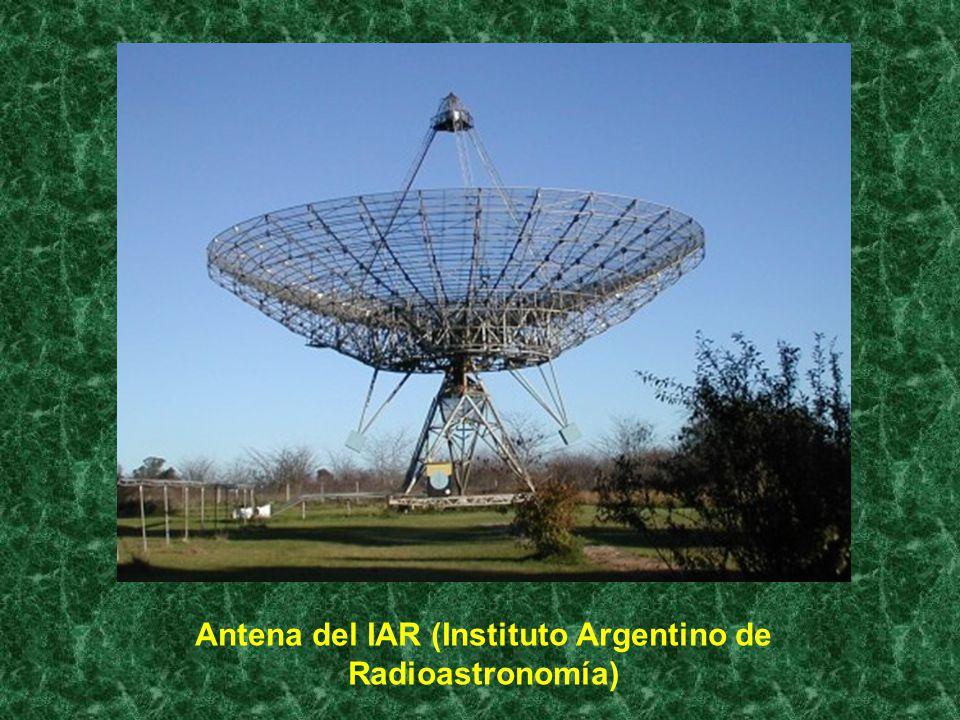 Antena del IAR (Instituto Argentino de Radioastronomía)
