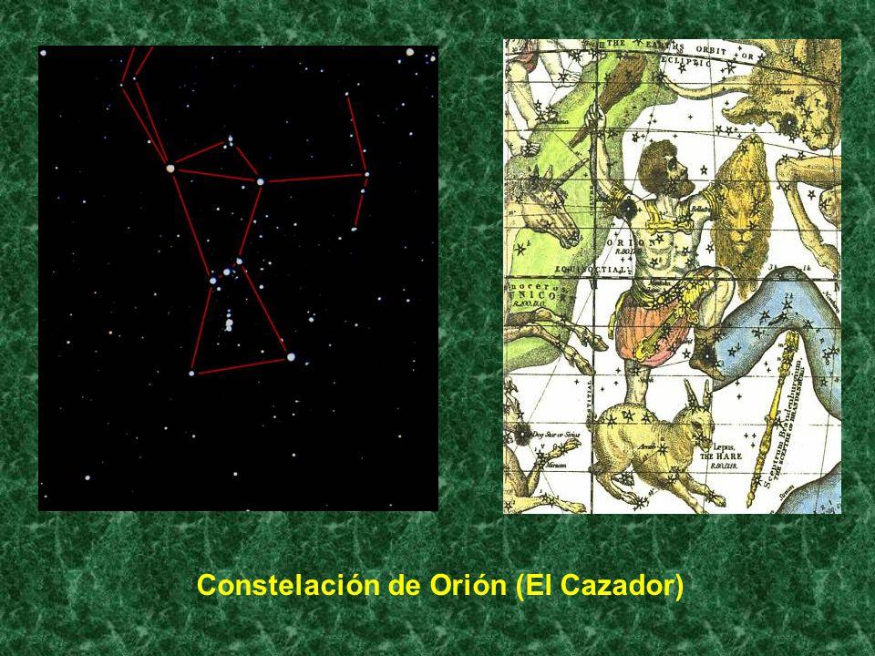 Constelación de Orión (El Cazador)