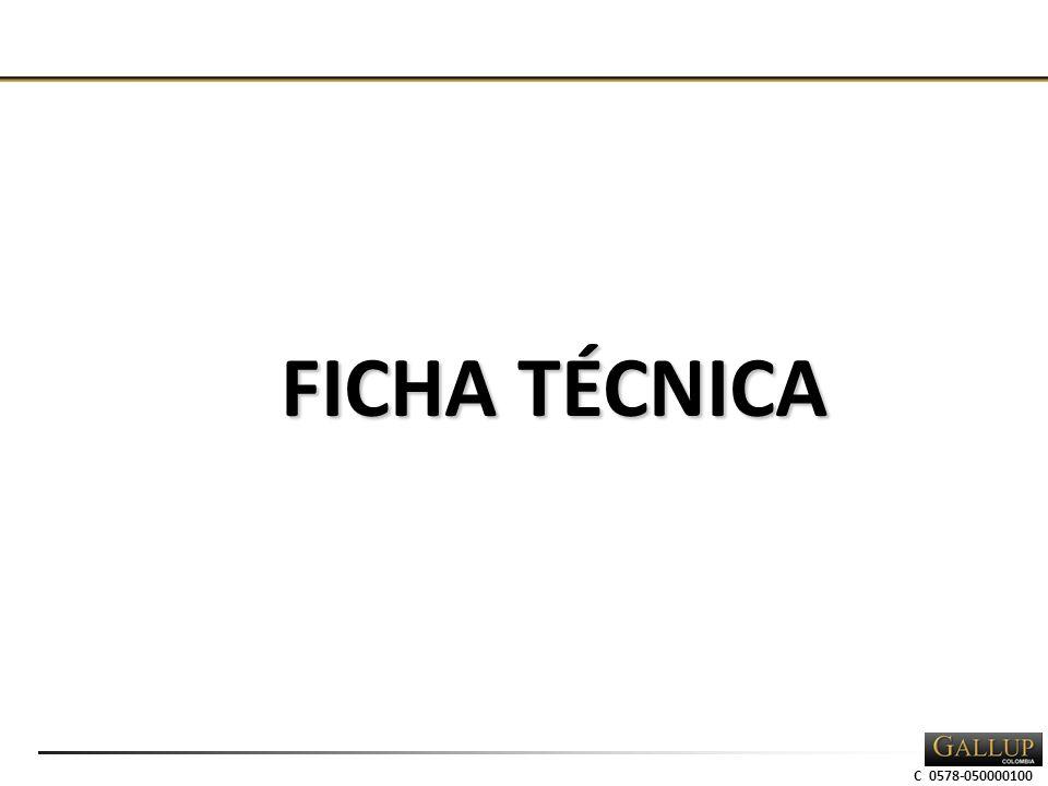 C 0578-050000100 FICHA TÉCNICA