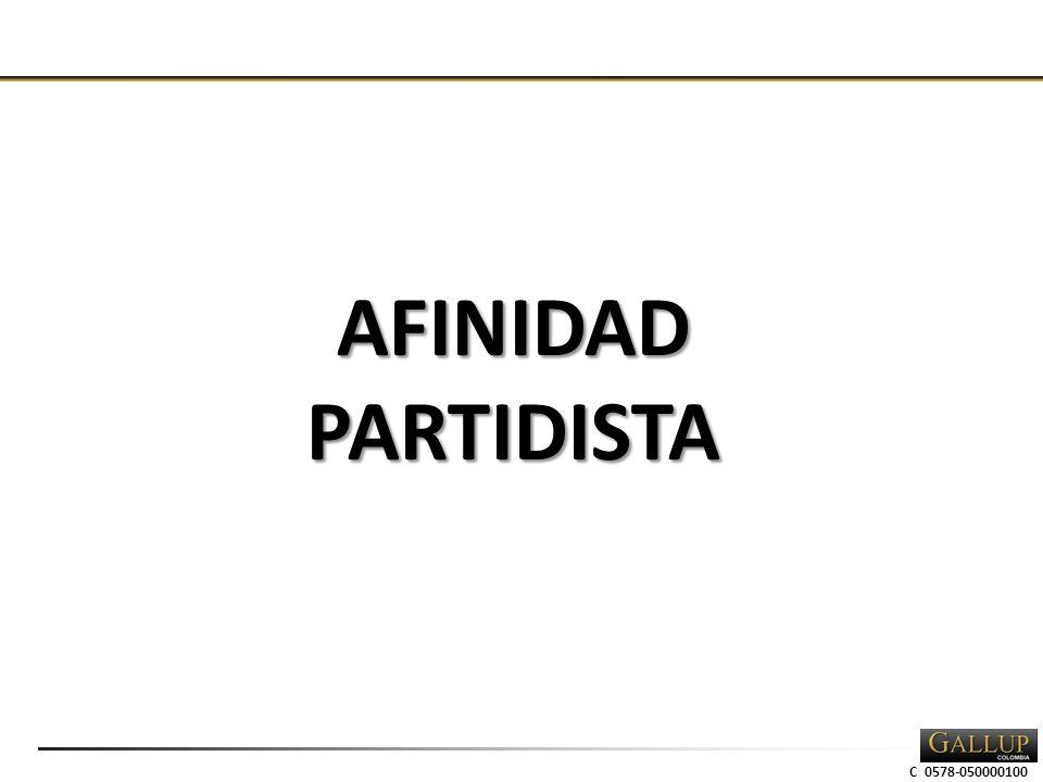 C 0578-050000100 AFINIDADPARTIDISTA