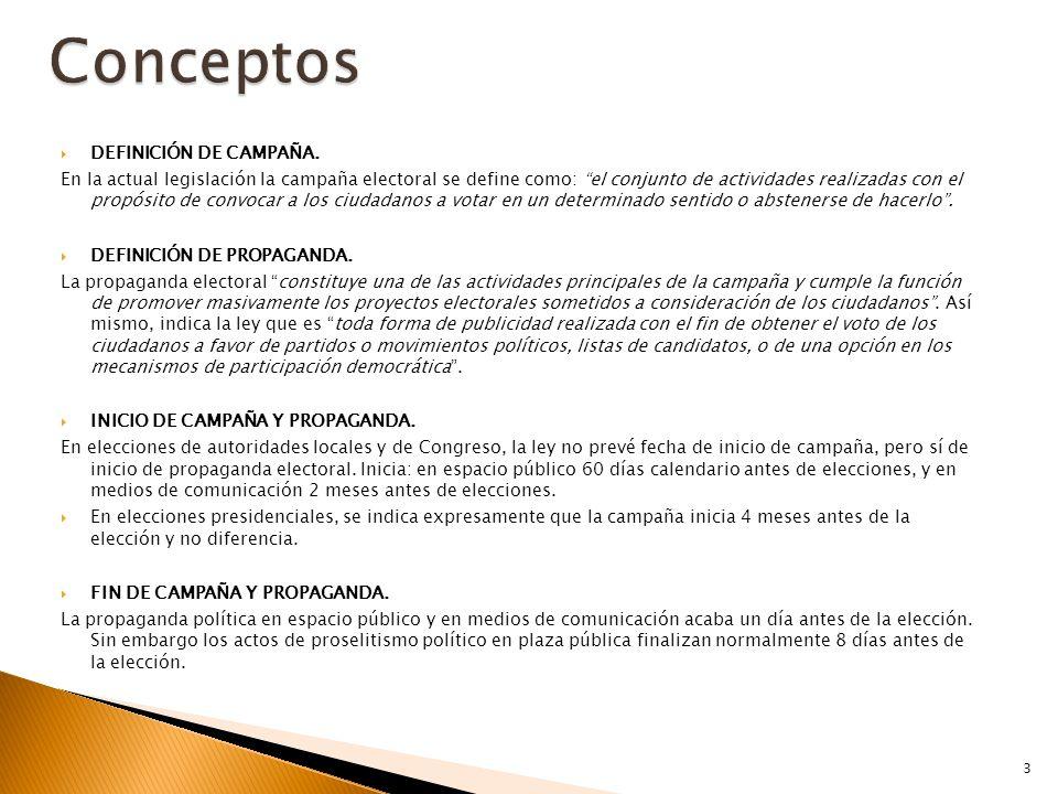  DEFINICIÓN DE CAMPAÑA.
