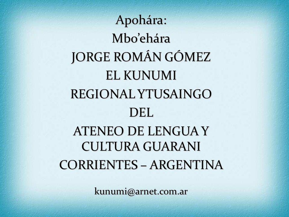 Ko'ápe rejuhúta hetave ñe'ênga: http://www.guaranirenda.com http://www.datamex.com.py/guarani/neenga/neenga_rory_ndojoapyiva.html