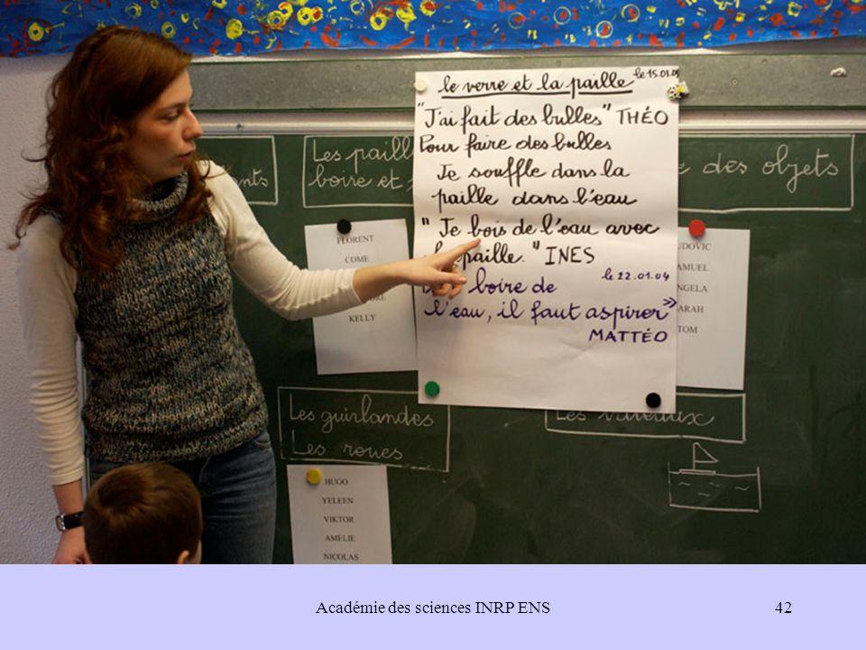 Académie des sciences INRP ENS42