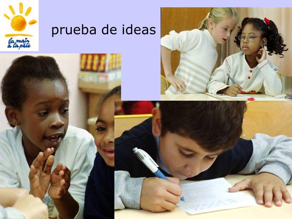 Académie des sciences INRP ENS47 prueba de ideas