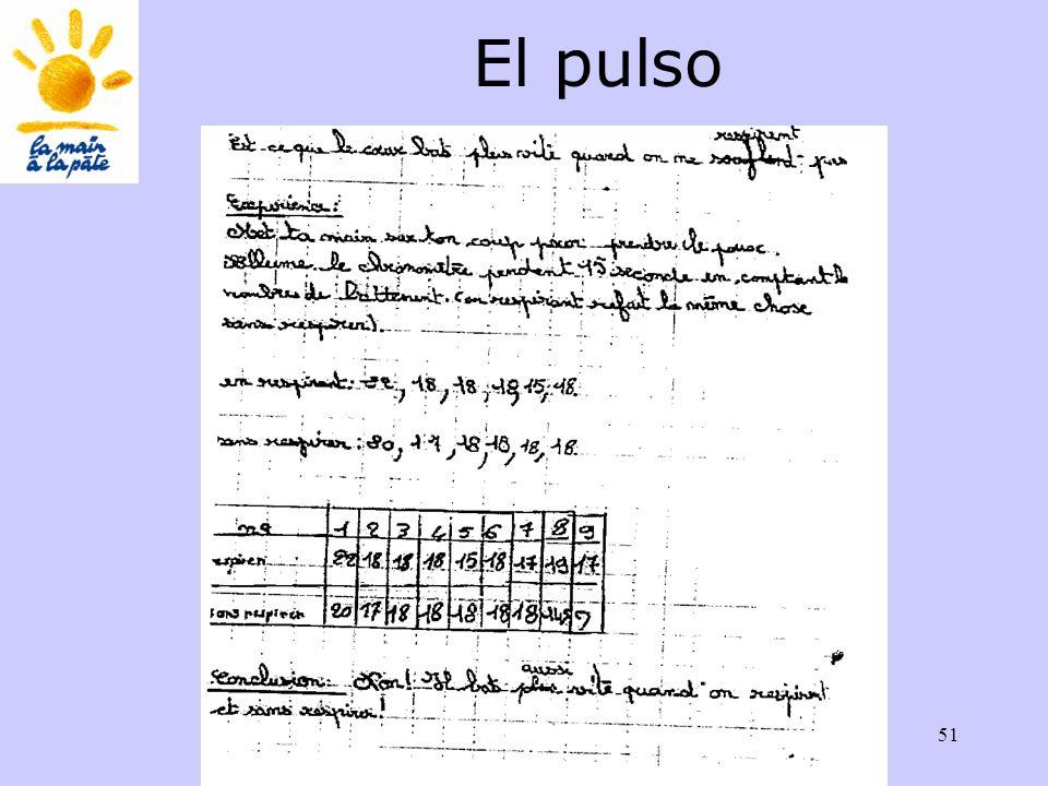 Académie des sciences INRP ENS51 El pulso