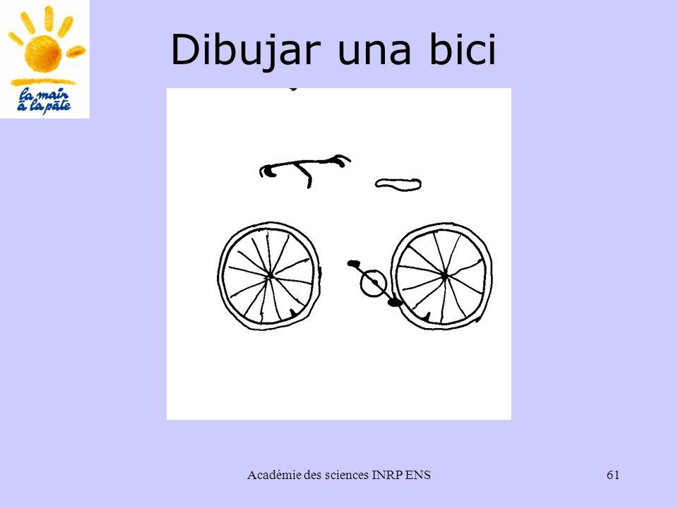 Académie des sciences INRP ENS61 Dibujar una bici