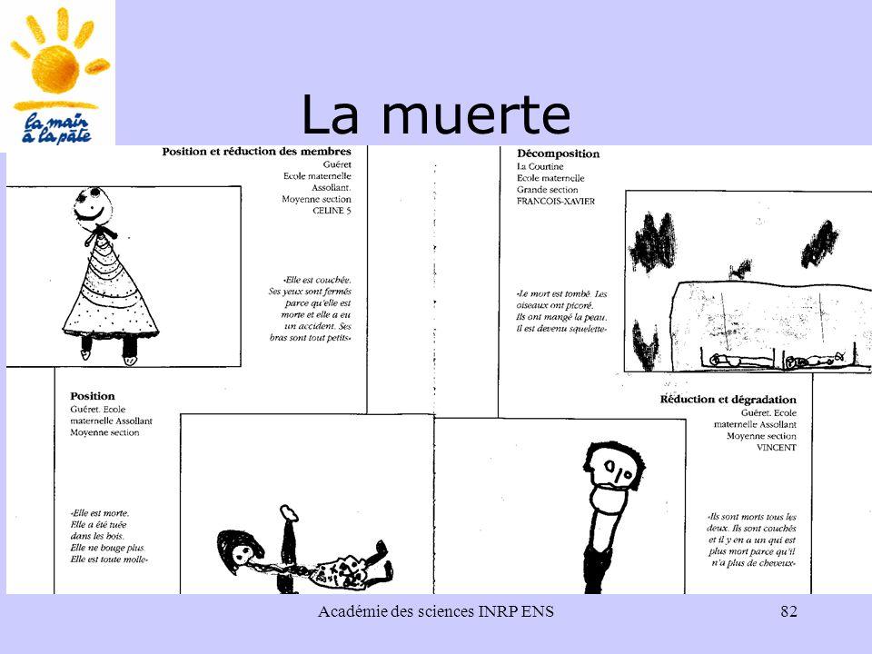 Académie des sciences INRP ENS82 La muerte