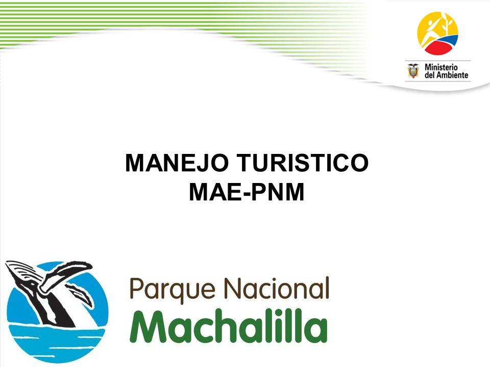 MANEJO TURISTICO MAE-PNM