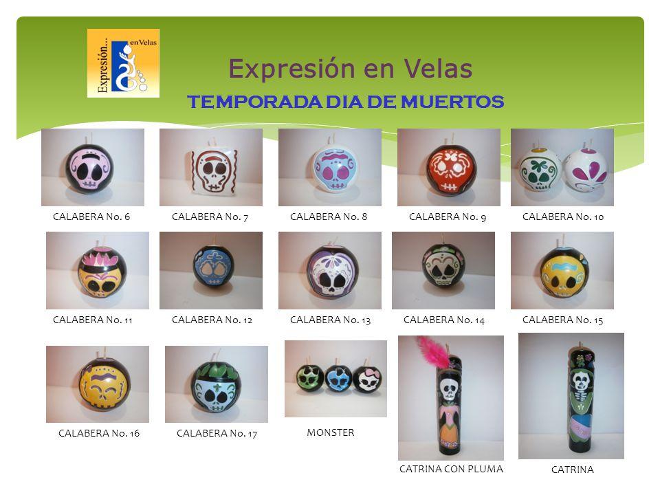 TEMPORADA DIA DE MUERTOS CALABERA No. 13CALABERA No.