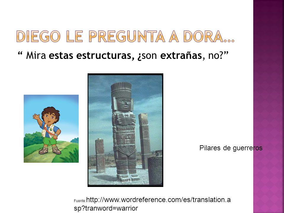 Mira Las pirámides, ¿puedes calcular cuántos pasos hay Fuente: http://historylink102.com/mesoamerican/rf-ci-1-el-castillo.htmhttp://historylink102.com/mesoamerican/rf-ci-1-el-castillo.htm http://www.babble.com/CS/blogs/strollerderby/archive/2009/02/17/liveblogging-toy-fair-part-2- everything-you-need-to-know-about-tween-dora.aspx El Castillo