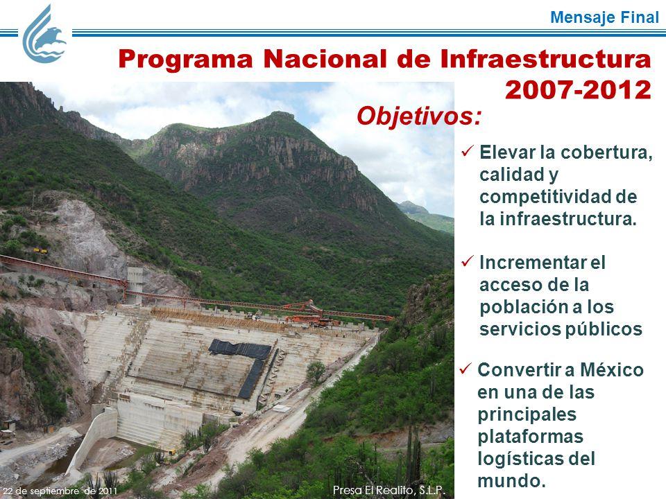 Mensaje Final Presa El Realito, S.L.P.