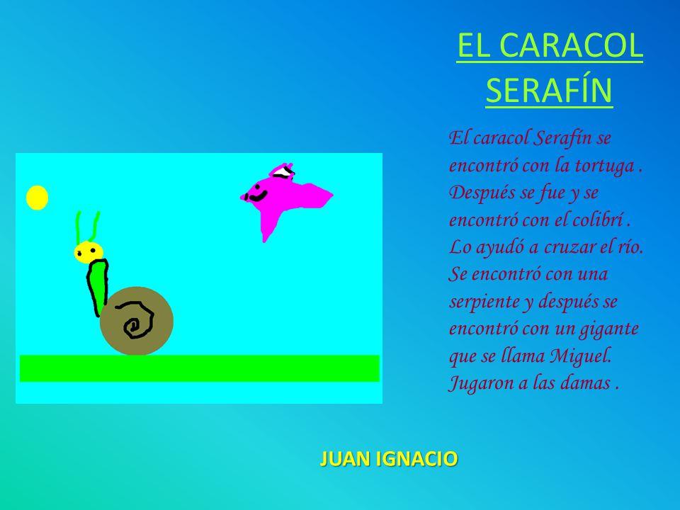 EL CARACOL SERAFÍN El caracol Serafín se encontró con la tortuga.