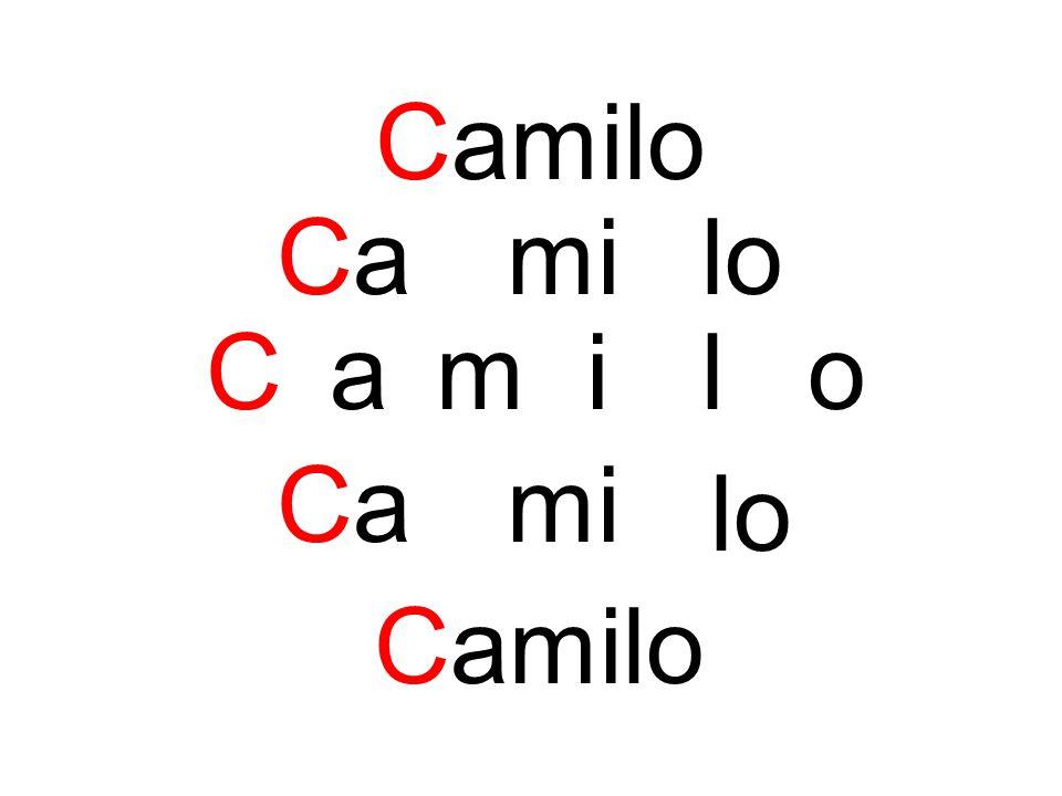 Camilo Camilo C a milo Cami lo Camilo