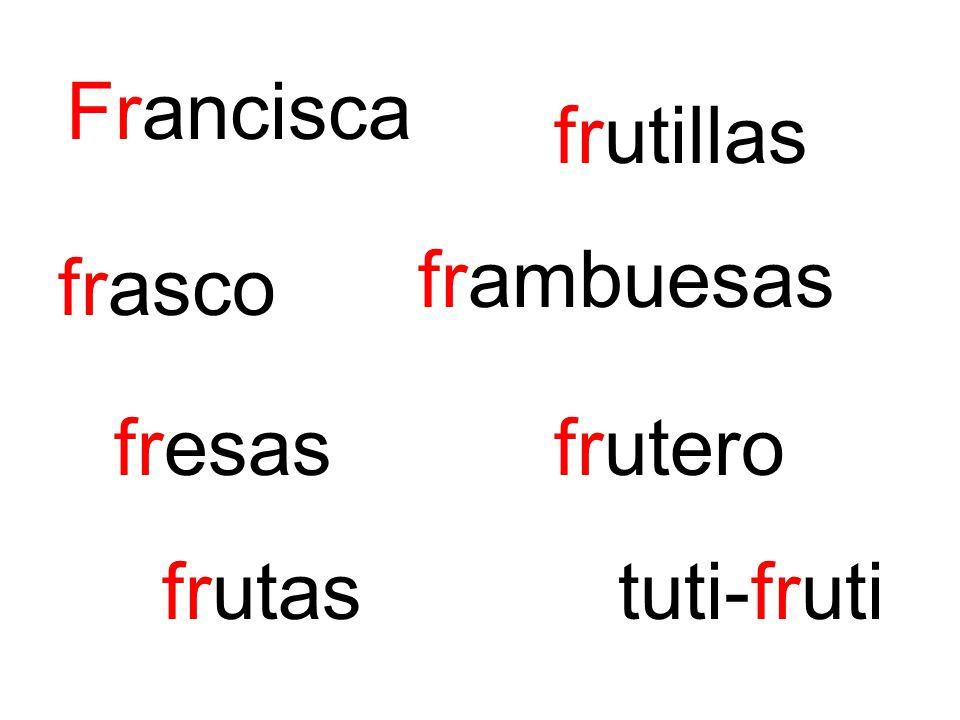 Francisca frutillas frasco frambuesas fresasfrutero frutastuti-fruti