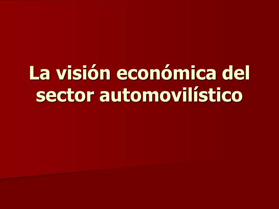 La visión económica del sector automovilístico