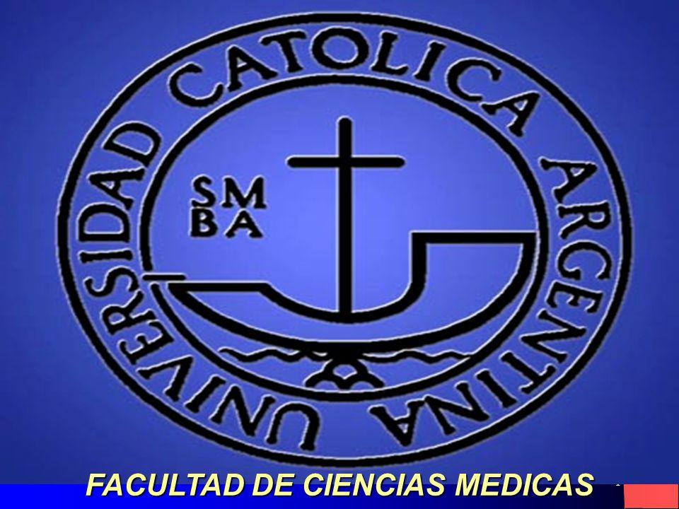 1 FACULTAD DE CIENCIAS MEDICAS