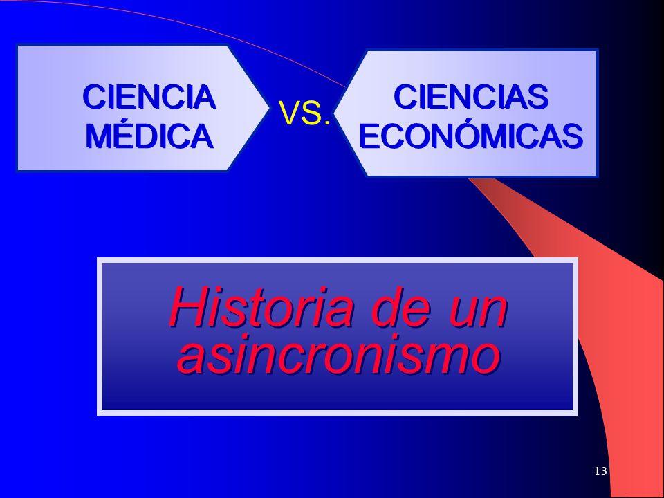 13 CIENCIA MÉDICA CIENCIA MÉDICA VS.