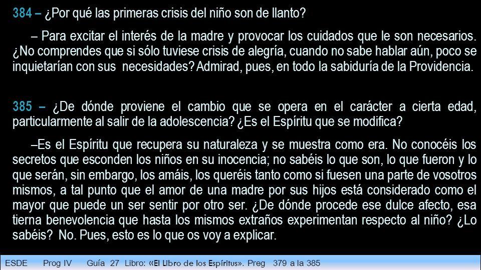 384 – ¿Por qué las primeras crisis del niño son de llanto.