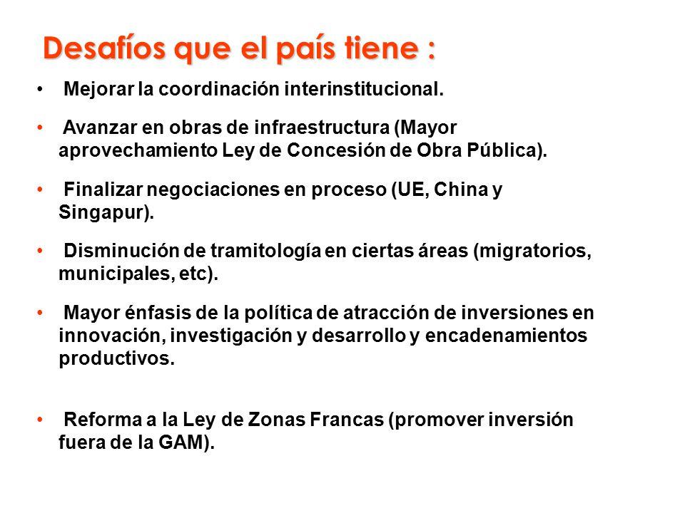 Mejorar la coordinación interinstitucional.