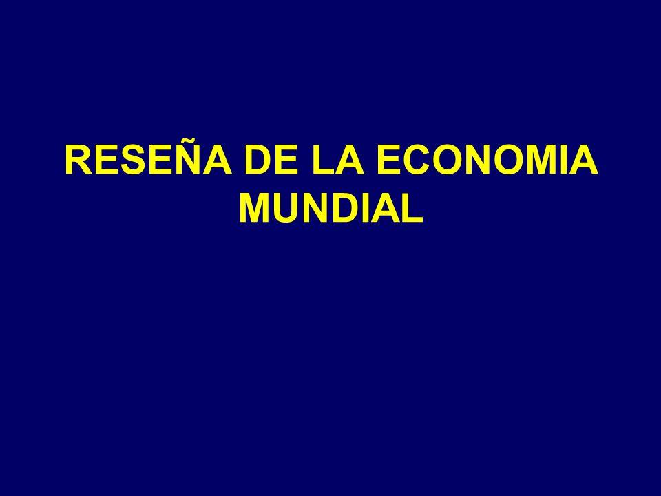RESEÑA DE LA ECONOMIA MUNDIAL