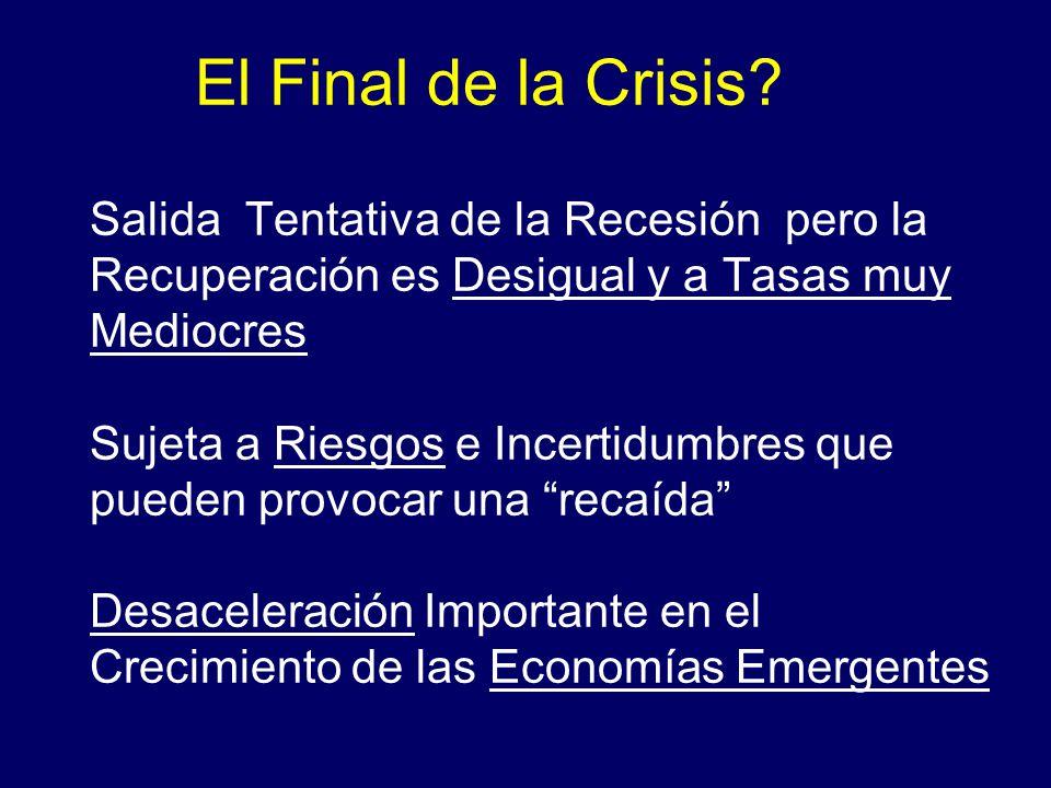 El Final de la Crisis.