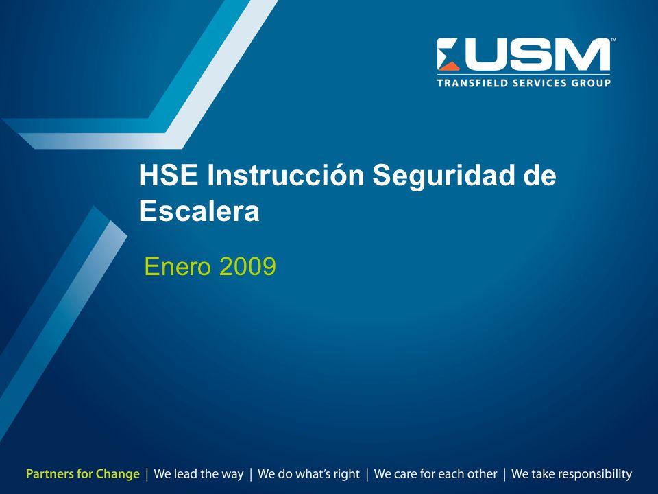 HSE Instrucción Seguridad de Escalera Enero 2009
