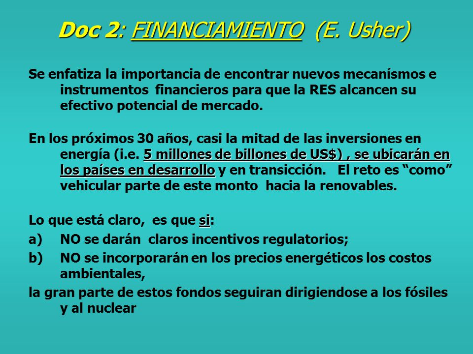 Doc 1: RATIONALE SOBRE LAS RENOVABLES (J.