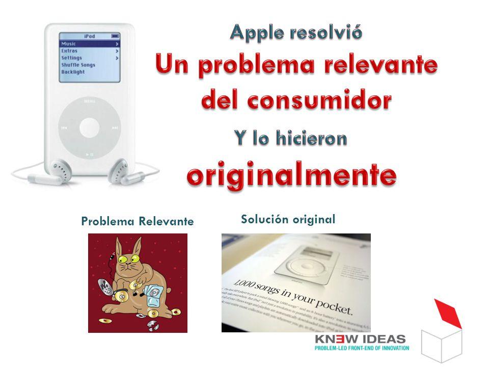 Solución original Problema Relevante