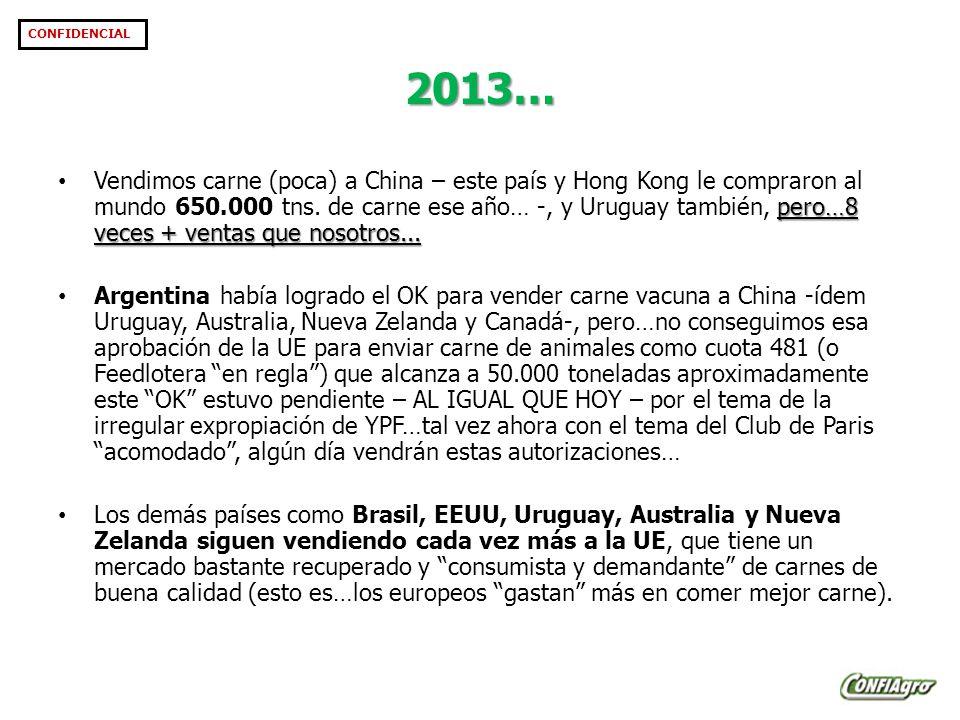 2013… pero…8 veces + ventas que nosotros...