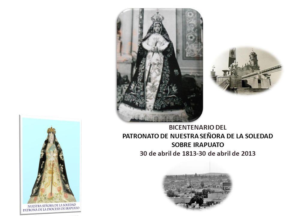 NOTIFICACIÓN Estamos en el AÑO JUBILAR de Nuestra Señora de la Soledad.
